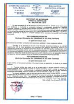Certificat AACR